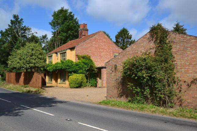 Thumbnail Detached house for sale in Norwich Road, Yaxham, Dereham, Norfolk.