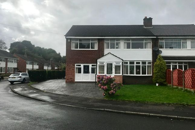 Thumbnail Semi-detached house to rent in Ashley Close, Rochdale