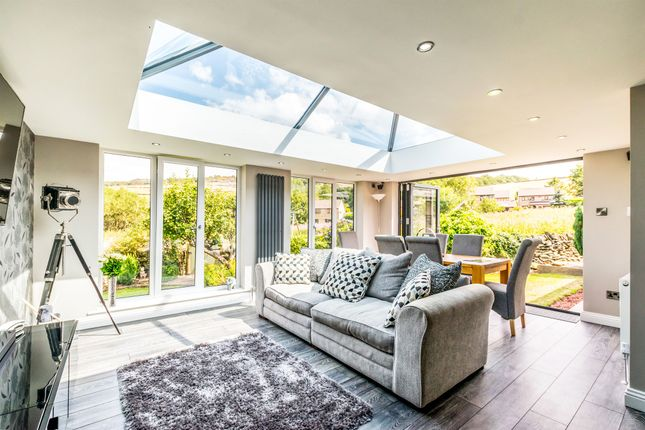 Thumbnail Detached bungalow for sale in Dobb Top Road, Holmbridge, Holmfirth