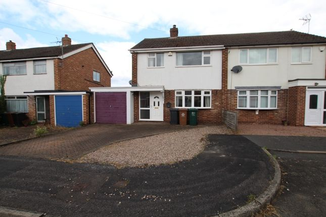 3 bed semi-detached house to rent in Chesterfield Drive, Swadlincote DE12