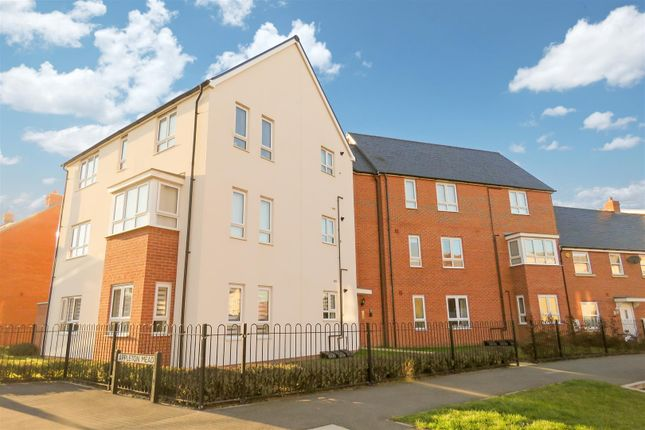 Thumbnail Flat for sale in Planets Way, Biggleswade