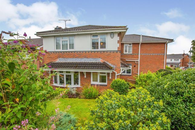 Thumbnail Detached house for sale in Birchwood Gardens, Cardiff