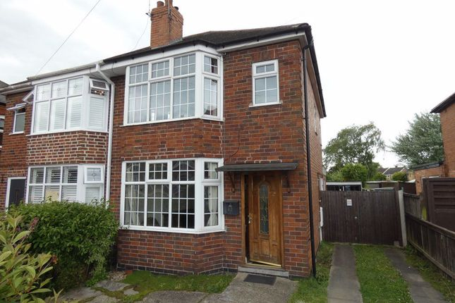 Thumbnail Semi-detached house to rent in Wyvern Avenue, Long Eaton