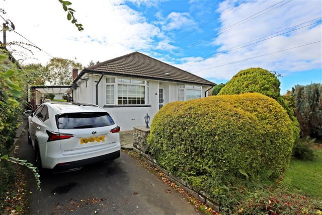 Thumbnail Detached bungalow for sale in Heol Dowlais, Efail Isaf, Pontypridd
