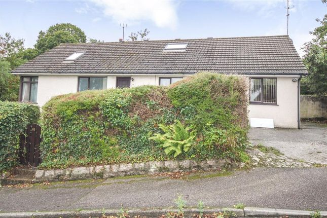 Thumbnail Detached bungalow for sale in Dracaena Avenue, Falmouth, Cornwall