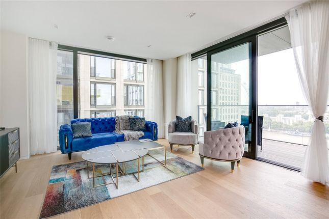Thumbnail Flat to rent in Casson Square, Southbank Place, Waterloo, London
