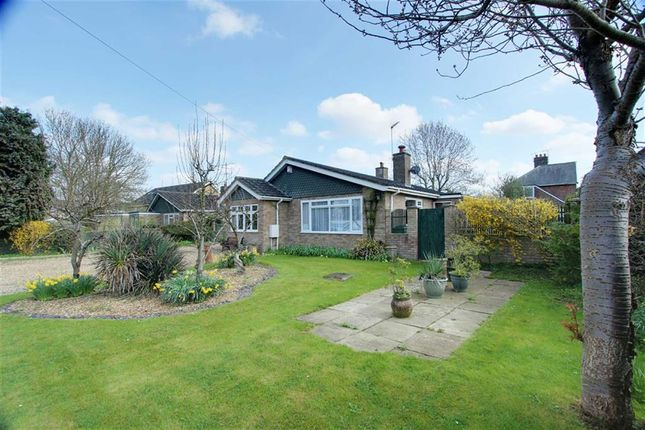 Thumbnail Detached bungalow for sale in Cheddington Road, Pitstone, Leighton Buzzard