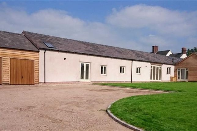 Thumbnail Barn conversion for sale in Newton- On-The-Hill, Harmer Hill, Shrewsbury