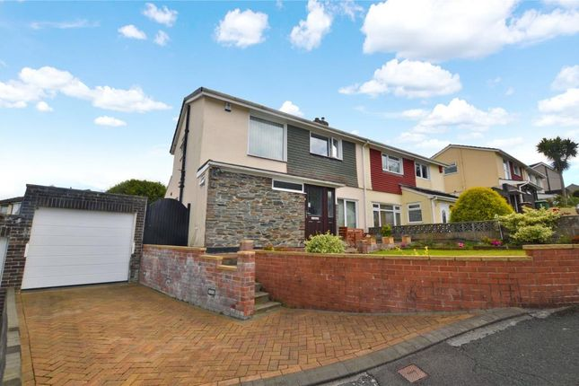 3 bed semi-detached house for sale in Dunstone Lane, Plymstock, Plymouth, Devon