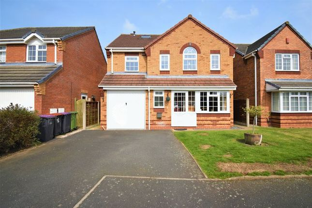 Thumbnail Detached house for sale in Chiswick Court, Donnington, Telford