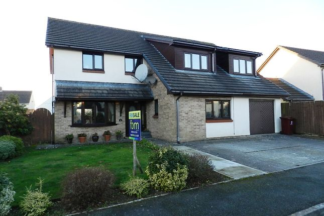 Thumbnail Detached house for sale in Heritage Park, Haverfordwest, Pembrokeshire