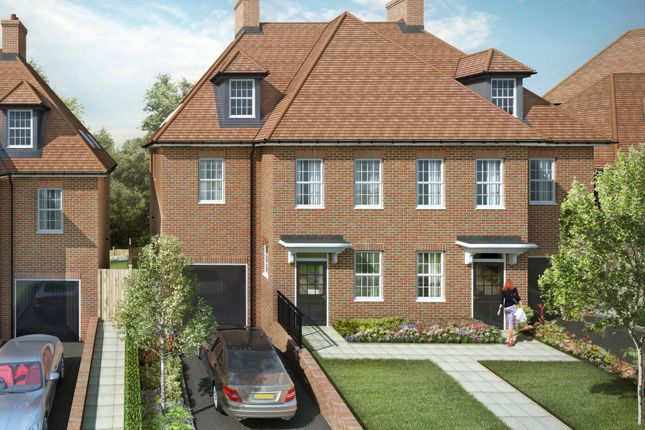 "Thumbnail Semi-detached house for sale in ""The Cedar Collection Cascade"" at Elmbank Avenue, Arkley, Barnet"