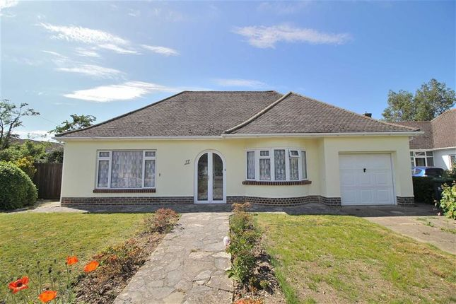 Thumbnail Detached bungalow for sale in Nea Close, Highcliffe, Christchurch