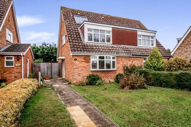 Thumbnail Semi-detached house for sale in Grenidge Way, Oakley, Bedford, Bedfordshire