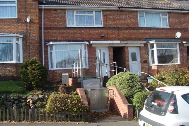 Thumbnail Terraced house to rent in Ashill Road, Rednal