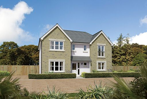 "Thumbnail Detached house for sale in ""Laurieston"" at Slateford Road, Bishopton"