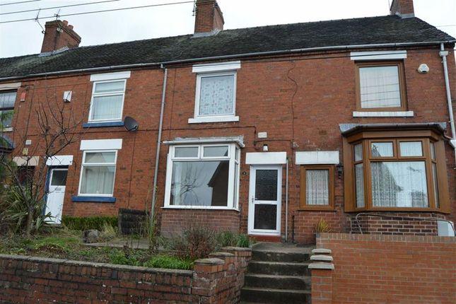 Thumbnail Terraced house for sale in Hazles Cross Road, Kingsley, Stoke-On-Trent