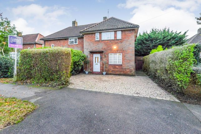 Thumbnail Semi-detached house for sale in Longlands Road, Welwyn Garden City