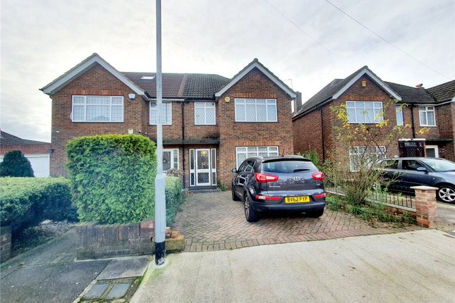 Thumbnail Semi-detached house to rent in Westacott, Hayes, Middlesex