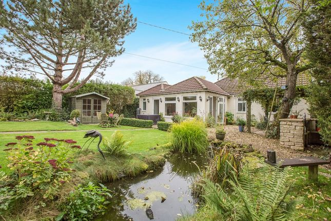Thumbnail Detached bungalow for sale in Quemerford, Calne