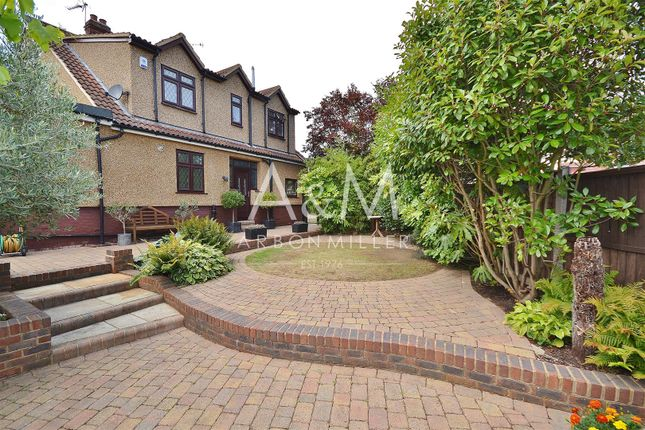 Thumbnail Semi-detached house for sale in Ashley Avenue, Ilford