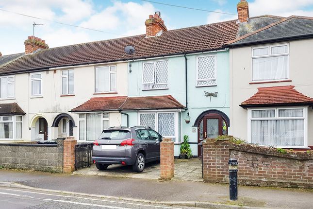 Thumbnail Terraced house for sale in Whitworth Close, Gosport