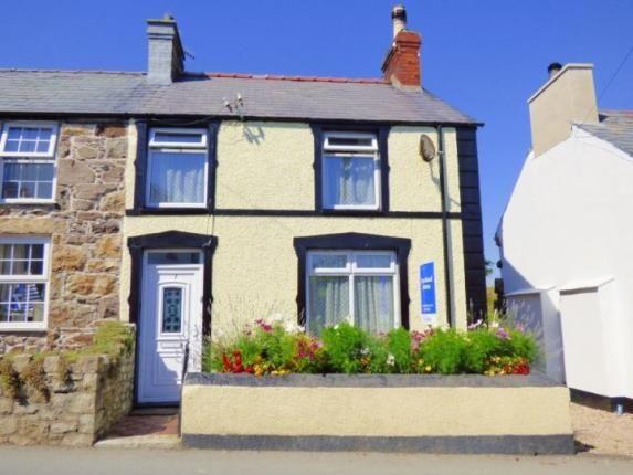 Thumbnail End terrace house for sale in Madryn Terrace, Llanbedrog, Gwynedd