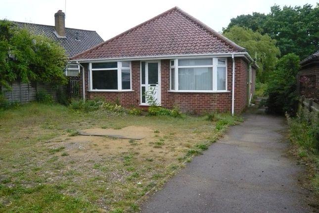 Thumbnail Detached bungalow for sale in Reepham Road, Hellesdon, Norwich