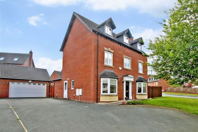 Thumbnail Detached house for sale in Middleton Road, Oswestry