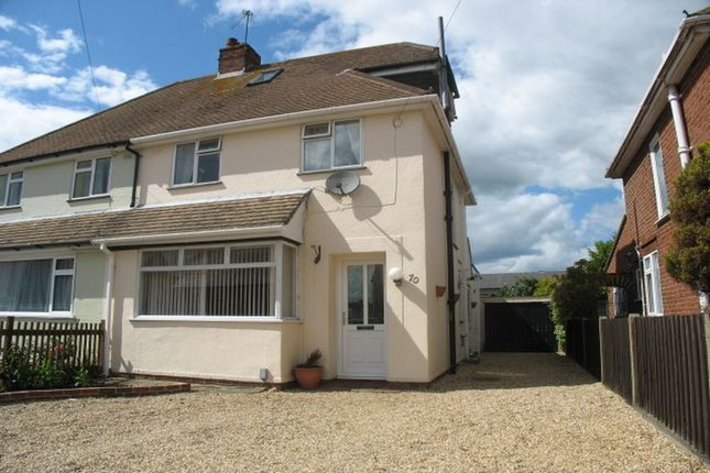 Thumbnail Semi-detached house to rent in Hillary Road, Basingstoke
