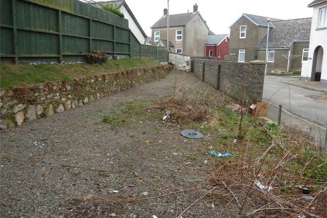 Thumbnail Land for sale in Plot Adj To Ashgrove, Smyth Street, Fishguard