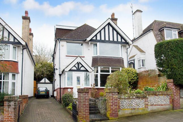Thumbnail Detached house for sale in Kings Avenue, Eastbourne