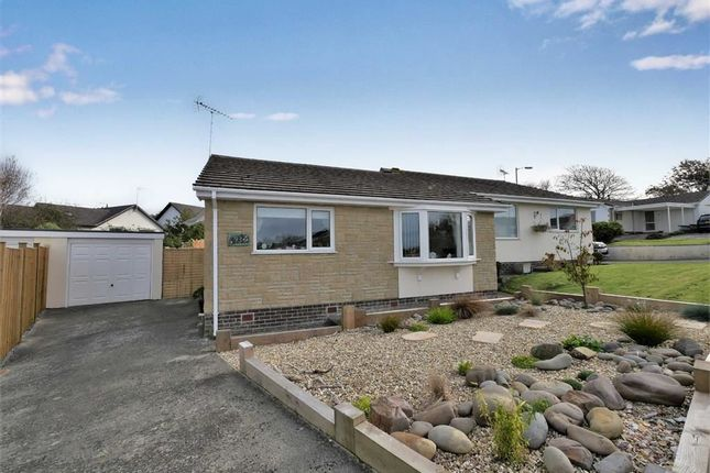 Thumbnail Semi-detached bungalow for sale in Bede Haven Close, Bude, Cornwall