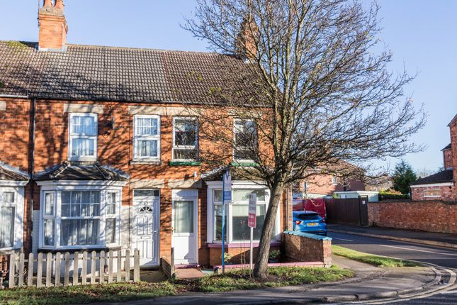 Thumbnail End terrace house for sale in Irthlingborough Road, Finedon, Wellingborough