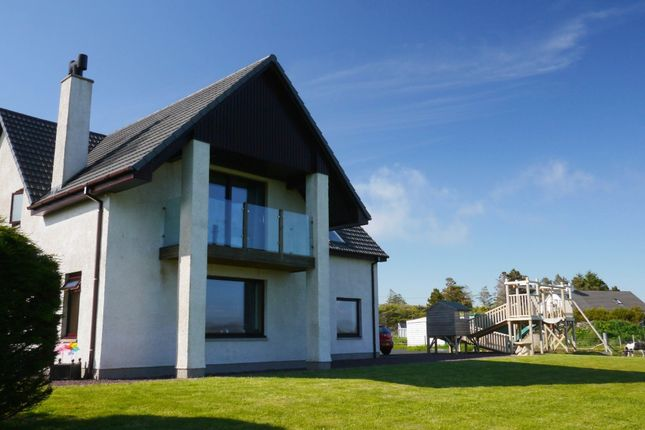 Thumbnail Detached house for sale in Clearview, 12 Coast, Inverasdale, Poolewe