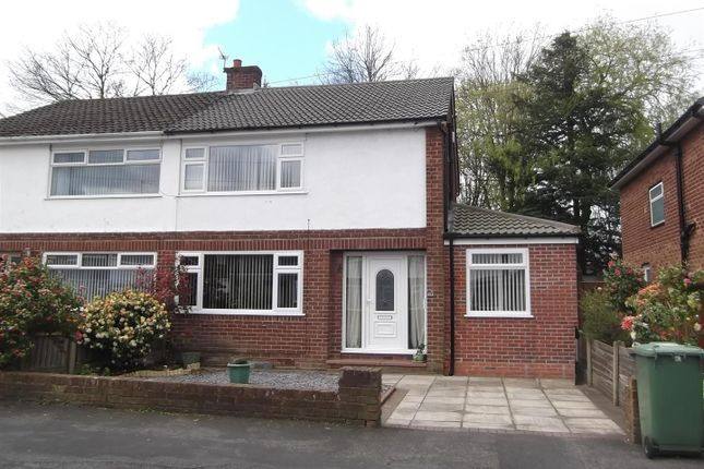 Thumbnail Semi-detached house for sale in Mossdale Drive, Rainhill, Prescot