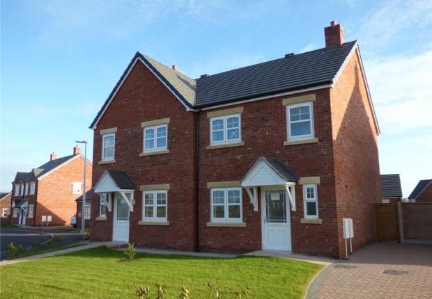 Thumbnail Semi-detached house for sale in Plot 8 Loweswater, Harvest Park, Silloth, Wigton