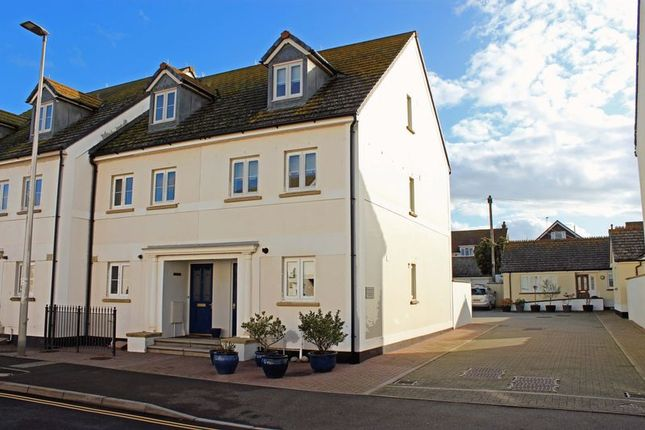 Thumbnail End terrace house for sale in Harbour Road, Seaton