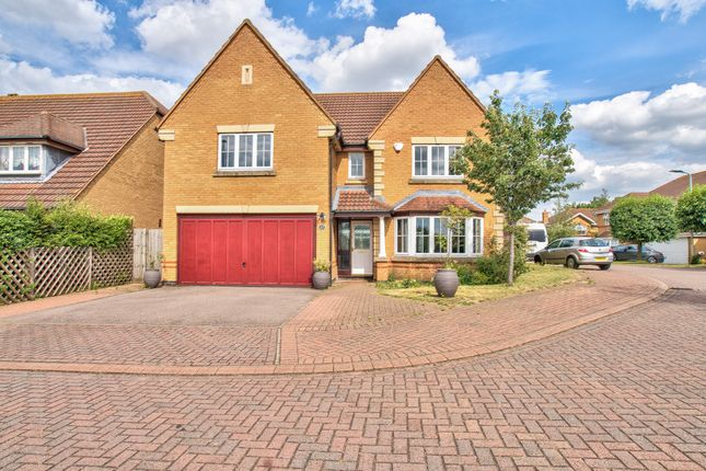 Thumbnail Detached house for sale in Dorchester Way, Bedford, Bedfordshire