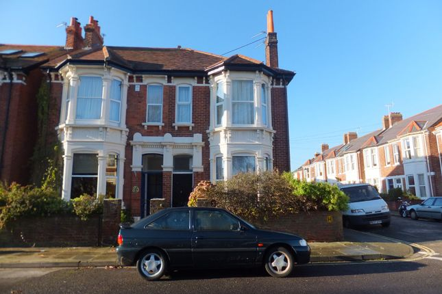 Thumbnail Maisonette to rent in Shirley Road, Southsea