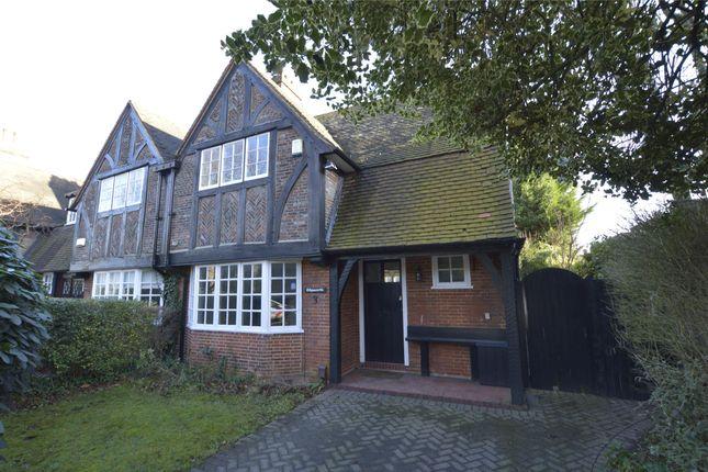 Thumbnail End terrace house to rent in Heath Drive, Gidea Park, Romford