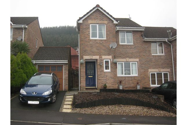 Thumbnail Semi-detached house for sale in Dorallt Way, Cwmbran