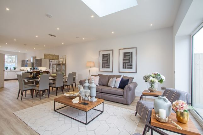 Thumbnail End terrace house for sale in Royal Clarence Yard, Weevil Lane, Gosport