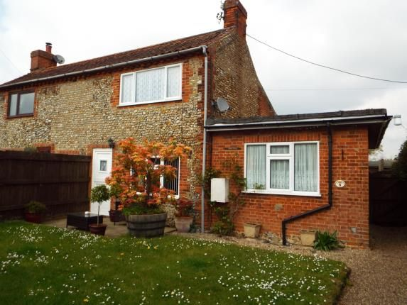 Thumbnail Semi-detached house for sale in Briston, Melton Constable, Norfolk
