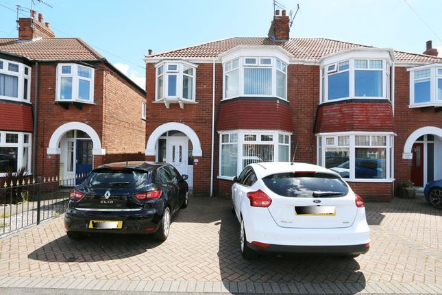 Thumbnail Semi-detached house for sale in Burniston Road, Hull