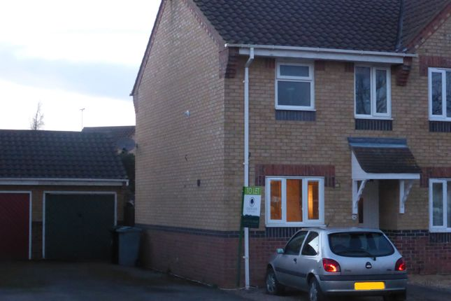 2 bed semi-detached house to rent in Buttercup Court, Deeping St. James, Peterborough PE6