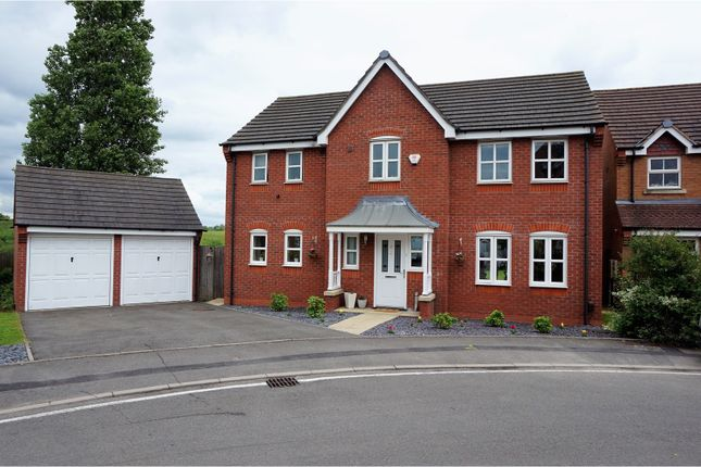 Thumbnail Detached house for sale in St. Christopher Drive, Wednesbury
