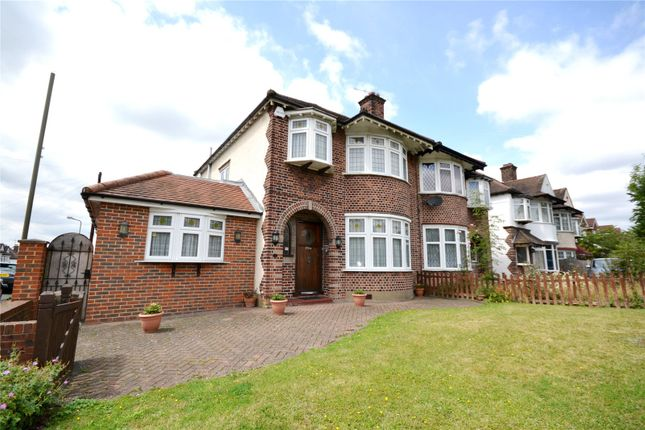 Thumbnail Semi-detached house to rent in Great North Road, New Barnet, Barnet
