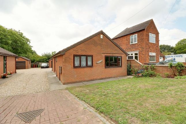 Thumbnail Detached bungalow for sale in Sluice Road, South Ferriby, Barton-Upon-Humber
