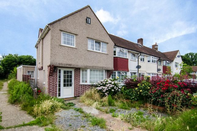 Thumbnail End terrace house to rent in Berwick Crescent, Sidcup